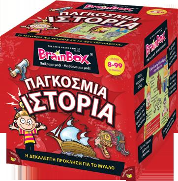 BrainBox ΠΑΓΚΟΣΜΙΑ ΙΣΤΟΡΙΑ